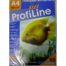 Фотобумага Г-150-A4-50 ProfiLine глянцевая, A4, 150 г/м2 (50 л.)
