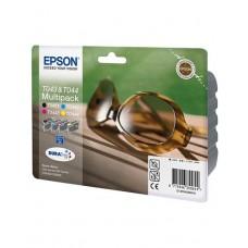 Картридж EPSON C13T04324010, Набор из 4 картриджей