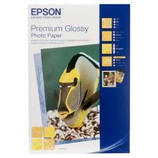 Фотобумага EPSON 13х18, 50 л, Premium Glossy Photo Paper, C13S041875
