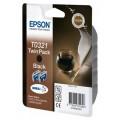 Картридж EPSON C13T03214210, 2 x Black
