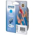 Картридж EPSON C13T03224010, Cyan