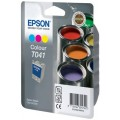Картридж EPSON C13T04104010, Color