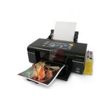 Принтер Epson Stylus Photo P50 вместе с С.Н.П.Ч., ч е р н и л а м и, кабелем USB и фотобумагой