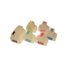 Комплект перезаправляемых картиджей (ПЗК) HP DesignJet 70, 100, 100+, 110, 110NR+, картридж №10/11