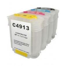 Комплект перезаправляемых картиджей (ПЗК) HP DesignJet 510, картридж №82